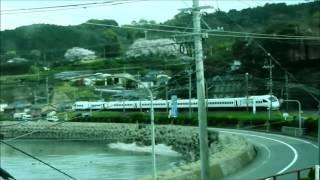 長崎本線 里信号場 特急かもめ31号離合