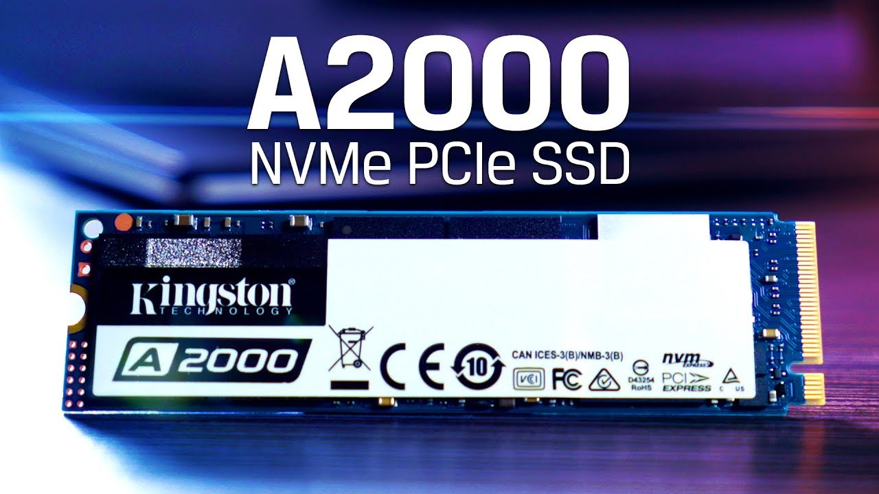 1TB M 2 NVMe SSD with 3D NAND - Kingston A2000
