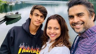 Actor Madhavan Family with Wife, Son, Parents & Sister