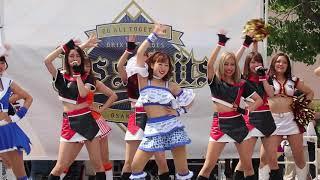 20180713 京セラドーム大阪 マイナビオールスター (01) 全チアパフォーマー登場、オープニングダンス『HERO 』