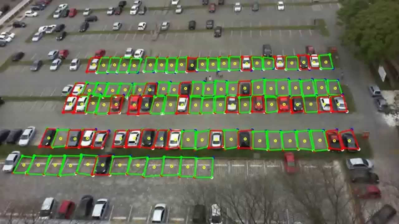 Deep Learning Automatic Parking Lot Classification