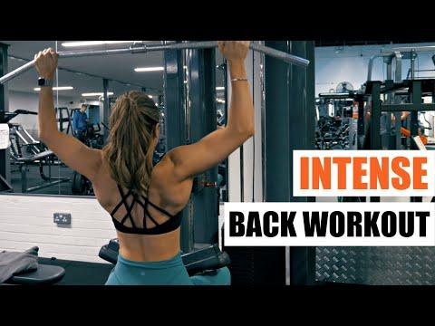 INTENSE WORKOUT: BACK DAY!!   Krissy Cela