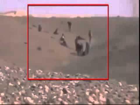 Dibawah serangan tentara bayaran suriah, militan seperti lalat