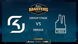 SK vs Valiance - Mirage - Group Stage - Dreamhack Marseille 2018