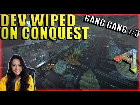 We Got Dev Wiped On Conquest But Not  PvP  Mega Tribe Survival  Ark: Survival Evolved