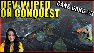 We Got Dev Wiped On Conquest But Not Official PvP - Mega Tribe Survival - Ark: Survival Evolved