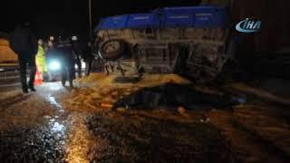 Eskişehir'de korkunç kaza 1 ölü