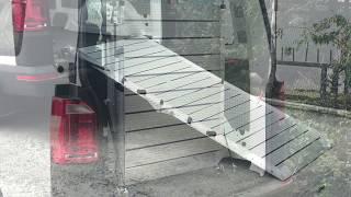 Yarı Otomatik Engelli Araç Rampası _  VW Transporter Kullanımı