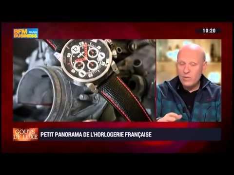 Bernard Richards présente BRM Manufacture sur BFM Business