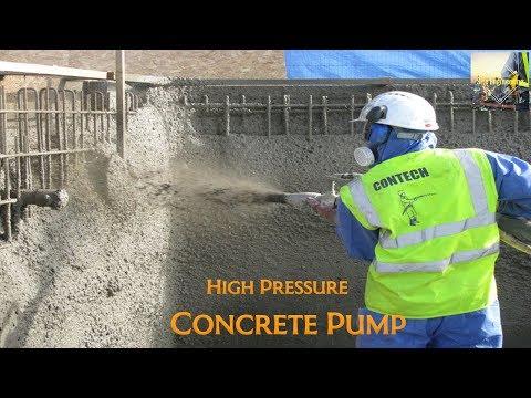 High Pressure Concrete Pump - Site Engineering