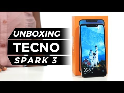 Tecno Spark 3 - Unboxing and First Impressions - YouTube