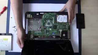 Dell Inspiron 15r N5010 N5110 Series  Ram HDD SSD Tutorial Upgrade Replacement harddisc Repair Guide