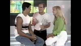 Angélica divulgando Zoando na TV na Turma do Didi