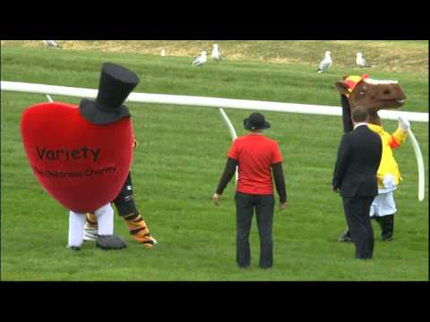 Mascot Race - Sportingbet Sandown Guineas Day 2012