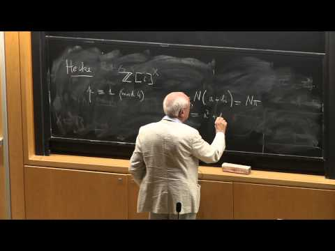 Minerva Lectures 2012 - J.P. Serre Talk 1: Equidistribution