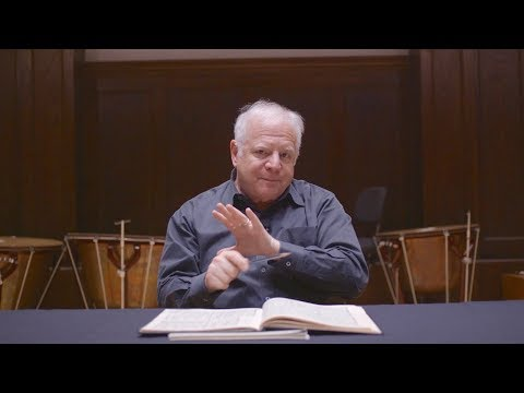 Lesson Nineteen: Putting It All Together, Part Four; Leonard Slatkin's Conducting School