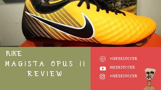 regular Diplomático Saliente  Nike Magista Opus II FG Review (With Pictures & Video)