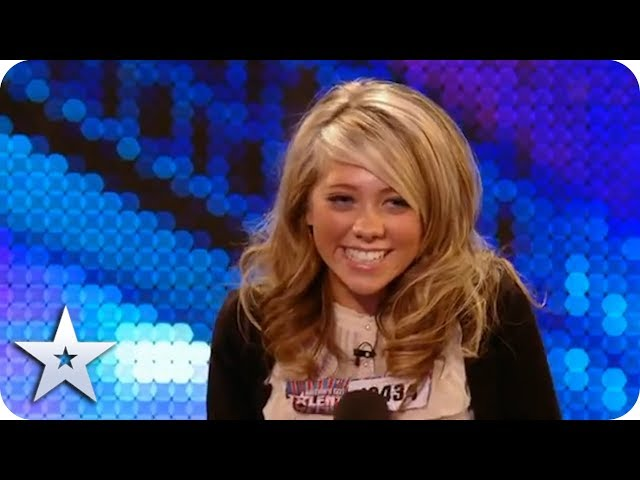 Unforgettable Audition: Paige Turley sings for our Judges | Britain's Got Talent