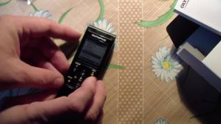 Обзор цифрового диктофона Олимпус WS853