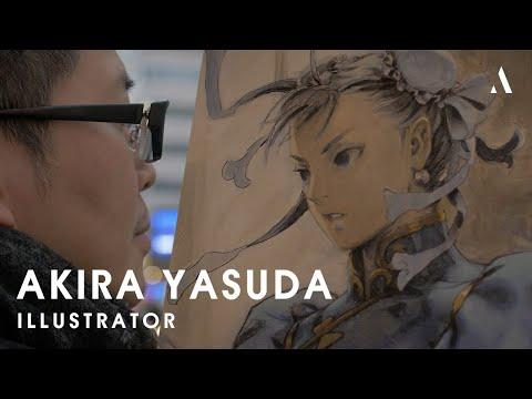 """Akira """"Akiman"""" Yasuda, the birth of Chun-Li"""