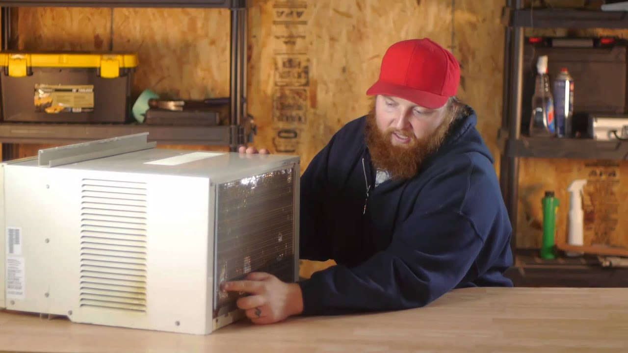 How To Store A Window Air Conditioner In The Winter Air