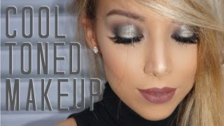 Quick Cool Toned Makeup Tutorial | Lustrelux