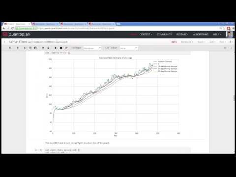 Quantopian Lecture Series: Kalman Filters - YouTube
