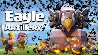 Clash of Clans Comedy - Clash of Clans Attacks - Eagle Artillery (Update sneak peak)