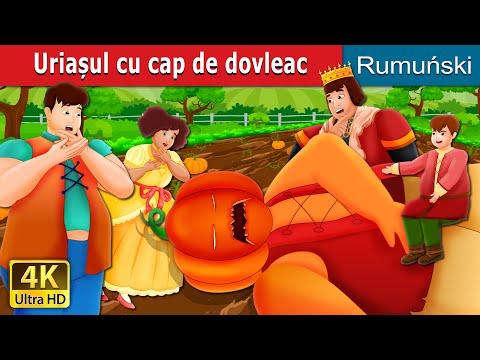 Uriașul Cu Cap De Dovleac    The Pumpkin Giant Story   Romanian Fairy Tales