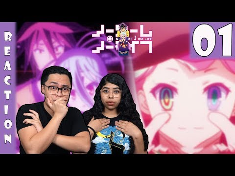 No Game No Life Episode 1 Reaction and Review! ENTER SORA AND SHIRO INTO THE WORLD OF DISBOARD!