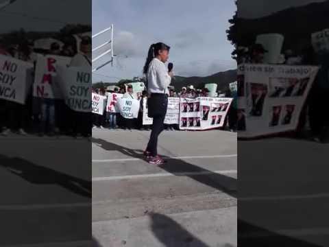 Manifestación San Rafael Las Flores 5 7 17