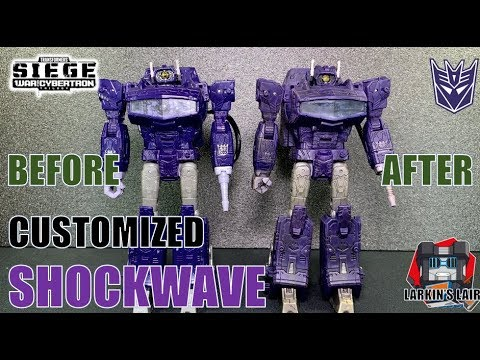 Transformers Siege Soundwave G1 upgrade kit ONLY War for Cybertron add on kit