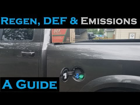 Regens, DEF and Emissions Explained on the 6.7L Cummins - 2013 through 2017 Ram 2500