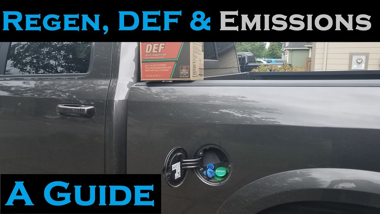 Regens DEF And Emissions Explained On The 67L Cummins