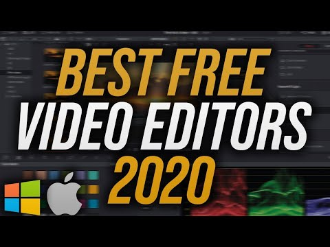Top 5 Best FREE Video Editing Software 2020/2021 (No Watermarks)