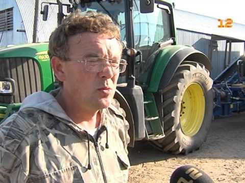 Уборочная страда в фермерском хозяйства Андрея Бабушкина