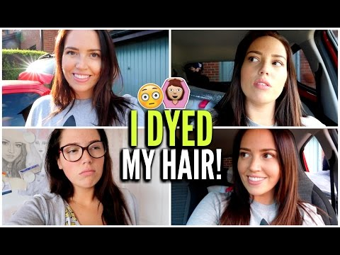 I Dyed My Hair!
