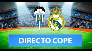 (SOLO AUDIO) Directo del Alcoyano 2-1 Real Madrid en Tiempo de Juego COPE