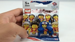LEGO Minifigures Team GB Olympics pack opening!