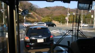 【前面展望】神戸駅前~しあわせの村~西鈴蘭台駅【阪急バス・150系統】