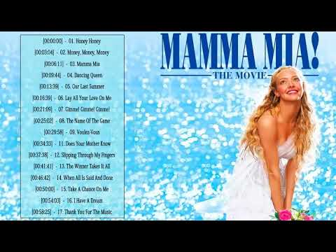 Mamma Mia Soundtrack ♡♡ Mamma Mia Soundtrack Playlist ♡♡ Mamma Mia  Soundtrack Playlist 2019