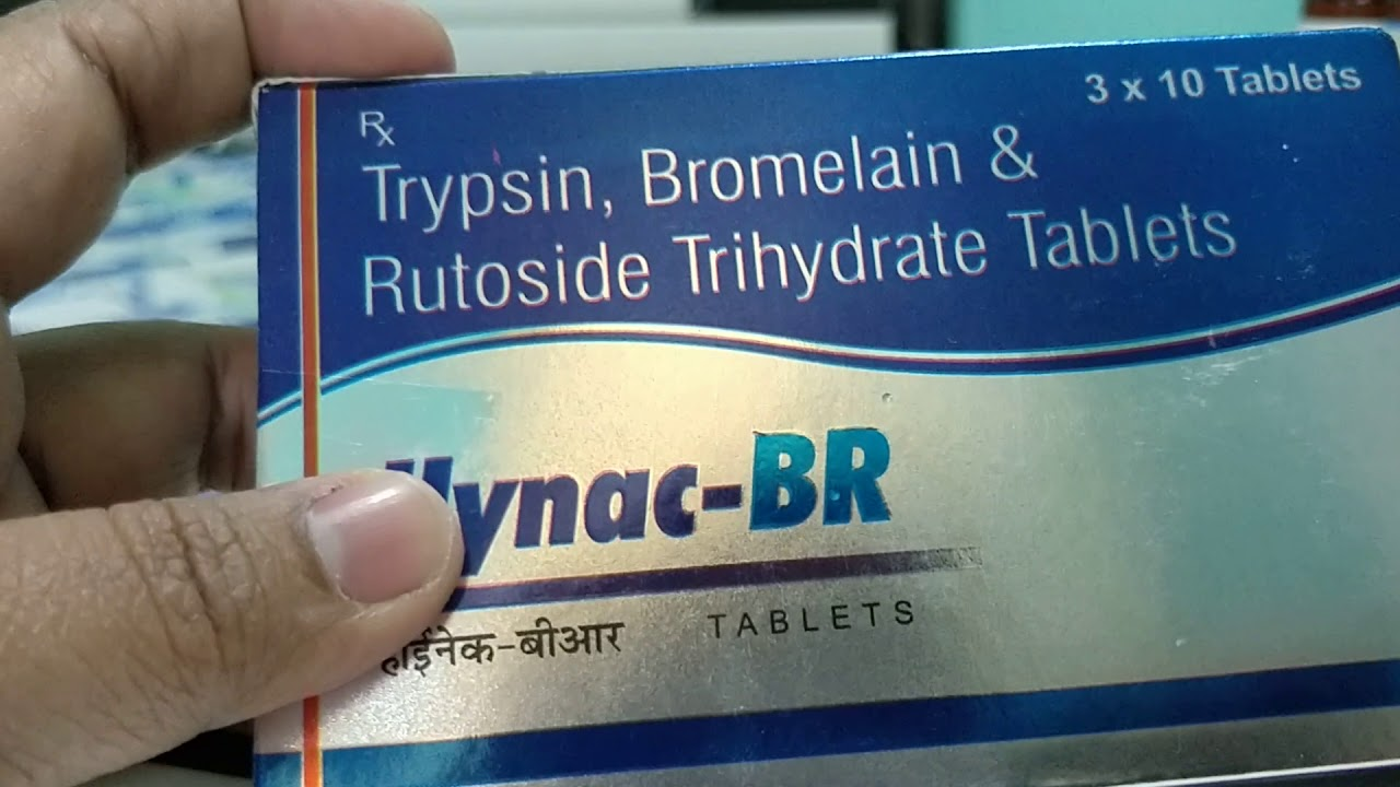 Medicine review in Hindi: Hynac-BR tablet best pain killer for tooth pain