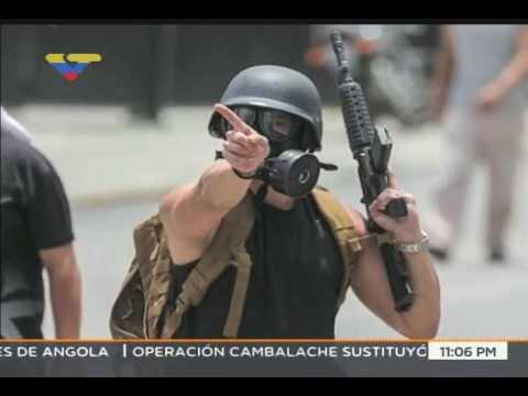 Denuncian que persona que portaba fusil AR-15 estuvo entre quienes atacó VTV este 20 de julio