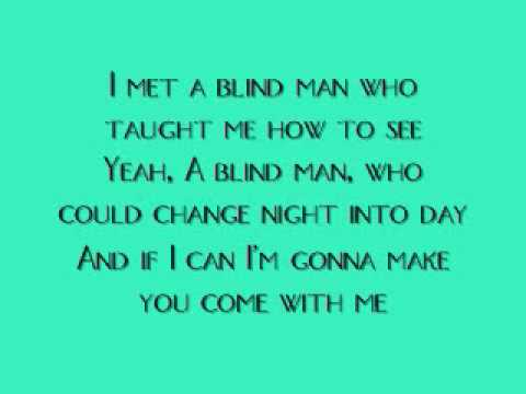 Aerosmith-Blind Man {On-Screen Lyrics}