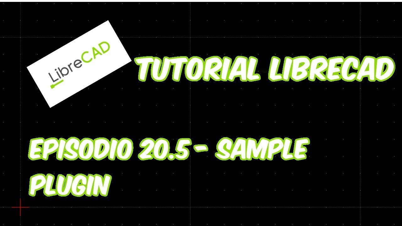 librecad plugins