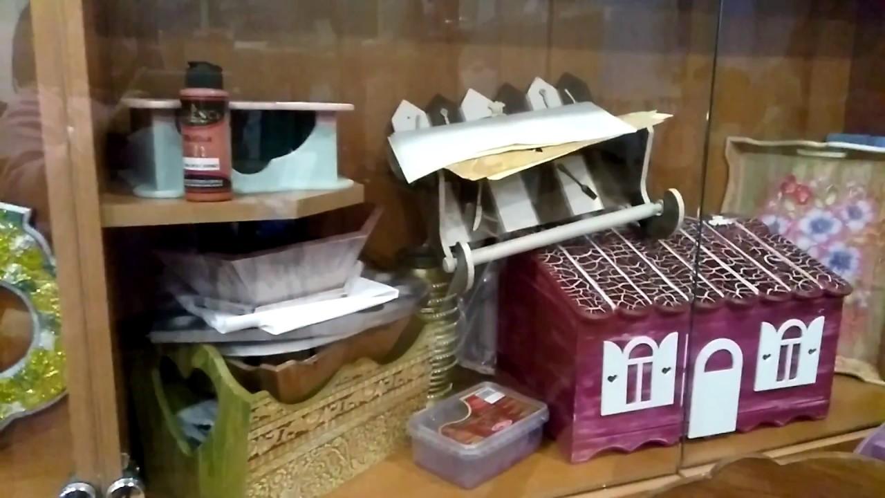 Ahşap Boyama ürünleri Bilecik Halk Eğitim Merkezi Youtube
