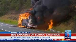 QLD School Bus Fire