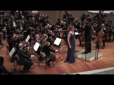 """La Traviata """"E' strano... Sempre Libera..."""" Jacquelyn Wagner (Sopran). BOCO"""
