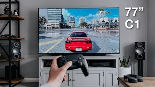 LG C1 OLED + PS5 & XBOX: The Best Gaming TV!