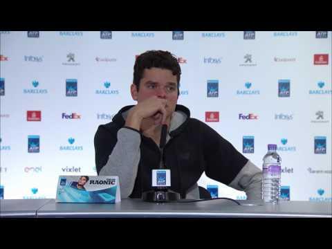 Milos Raonic Semi-final Press Conference